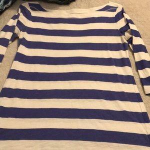 Boatneck 3/4 sleeve shirt